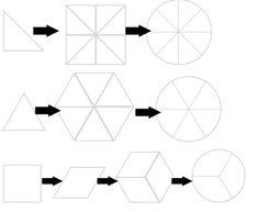 принцип складывания колейдоскопа