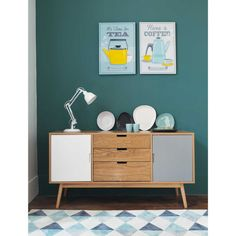 Cabinets Scandinavian furniture In the living room wooden chest of drawers Vintage Sideboard, Vintage Furniture, Home Furniture, Modern Furniture, Furniture Design, Vintage Buffet, Furniture Ideas, Muebles Living, Scandinavian Furniture