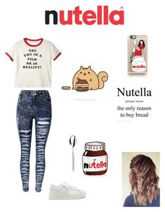 """Nutella"" by chwalkerodom ❤ liked on Polyvore featuring Casetify"