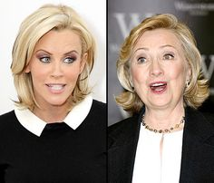 Jenny McCarthy Jokes About Hillary Clinton's Sexuality on The View, Implies She's Had Girlfriends