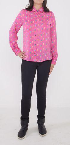 Camisa Audrey Sorvetes Pink
