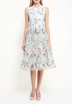 Платье Chi Chi London купить за 8 399руб CH041EWLGA35 в интернет-магазине Lamoda.ru
