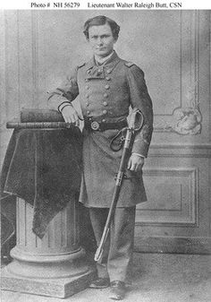 Lt. Walter Raleigh Butt Confederate States Navy