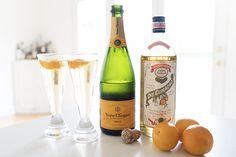 Mama Needs A Drink: New Year's Eve Orange Sparkler