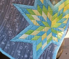 Morgan's Star cheater quilt pattern by Robyriker