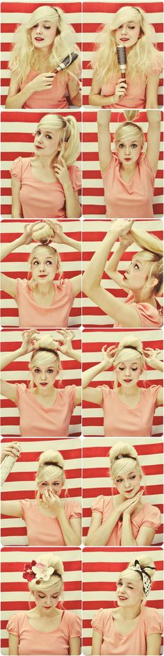 Vintage French Roll Hairstyle | Makeup Mania