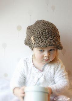 Ravelry: Newsboy cap hat Morgan pattern by Muki Crafts