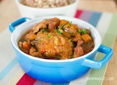 Slow Cooked Chicken Casserole   Slimming Eats - Slimming World Recipes