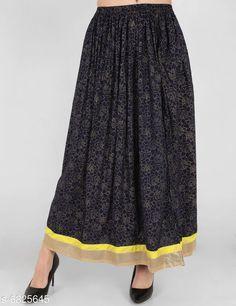 Skirts Trendy Women's Skirts   Fabric: Cotton Pattern: Printed Multipack: 1 Sizes:  Free Size (Waist Size: S-28 in Length Size: 44 in)  (M-30 in Length: 44 in) (L- 32 in Length: 44 in) (XL- 34 in Length: 44 in) (XXL- 36 in Length: 44 in) Country of Origin: India Sizes Available: 28, 30, 32, 34, 36   Catalog Rating: ★4 (250)  Catalog Name: Stylish Glamorous Women Skirts CatalogID_1089388 C79-SC1040 Code: 223-6825645-957
