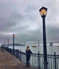 O lugar mais lindo que fui em SF #pier7 ♥️ #ferrybuildingsf - Tete Feder (@tetefeder)