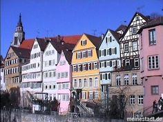 Tübingen - Altstadt am Neckarufer