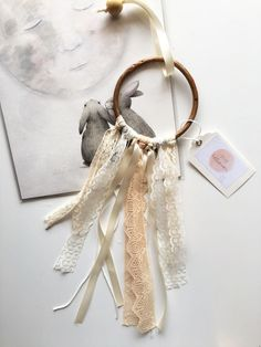Mini+Bamboo+Dream+Catcher+Vintage+Cottage+by+dreambelieverdecor