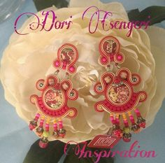 Spring is here!!! our earrings on display at inspiration Kz Jewelry. #DoriCsengeri #springcolors  #casualchic #earrings# ss2015