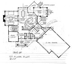 Colorado House Plans 1,652 square feet 3/2/util/no basement | houseplans:1600-1699