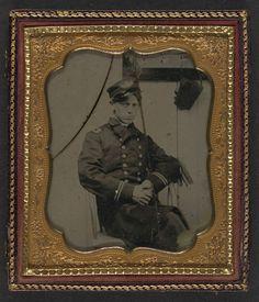 [Unidentified sailor in Union naval officer's uniform] (LOC)