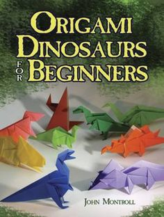 dinosaur origami (beginners)