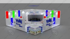 3ds special design fair stand Vatan Plastik