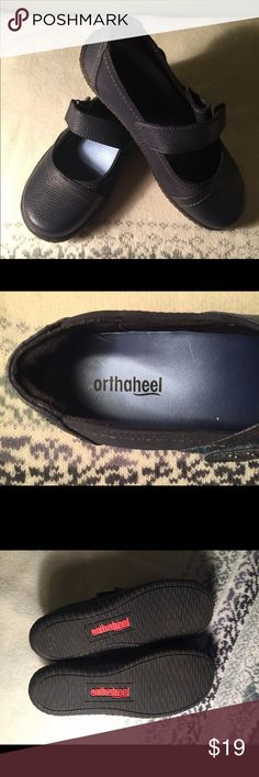 Orthaheel Navy Shoes Orthaheel Navy Shoes. Comfy & Cute! Great condition! 6M. Comes with original box!  *No trade. Selling for someone else. Orthaheel Shoes