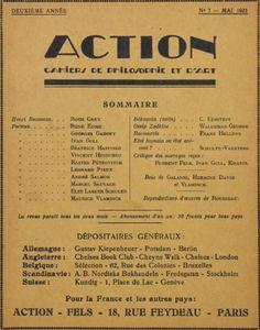 Action #7 : Mai 1921