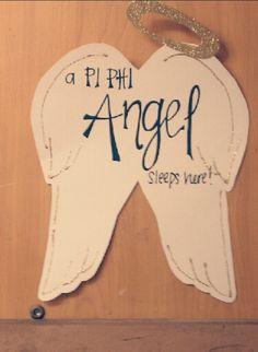 Pi Phi door decoration #piphi #pibetaphi