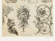 aquatic ornaments and scrolls with grotesques - Поиск в Google