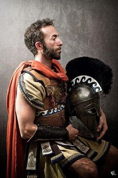 Be brave, my brothers.The #Hero that you are, has to fight on regardless.... #ancient #greek #military and #warfare