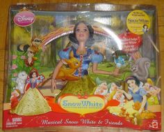 Disney Musical Snow White and the Seven Dwarfs Friends Brand New Sealed  #Disney