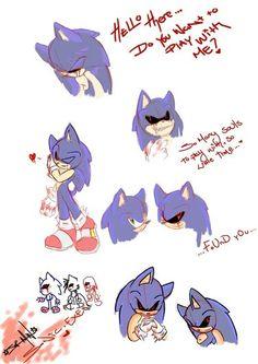 Sonic.exe doodles ^^