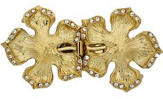 FiveStrand Double Flower Clasps with Hidden by GoldenTwinClasps, $27.75