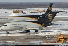 Aviation Photo Boeing - United Parcel Service - UPS Air Machine, Boeing 727, United Parcel Service, Cargo Airlines, Aircraft Pictures, Military Aircraft, Airplane, Alaska, Aviation