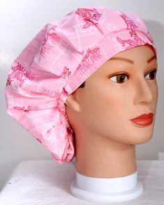Pink Panther Bouffant Surgical Scrub Hat by duehringphotocc, $5.00