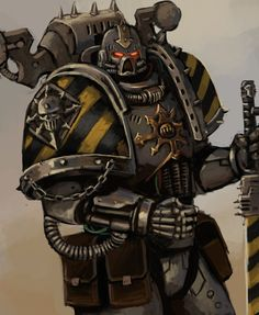 The Iron Warrior by FonteArt