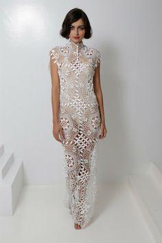 Outstanding Crochet: Crochet Tunic...this is a HIP crochet dress!!!!