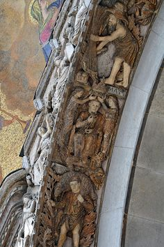 Venice, Portal of St. Mark. The Cycle of the Months by renzodionigi, via Flickr
