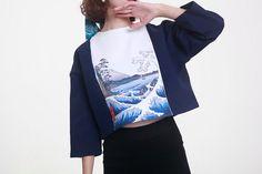 Fine Art Sammlung japanischer Malerei Hokusai die große Welle von Kanagawa…