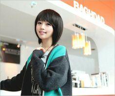 Short ulzzang black hair (Follow me♥)