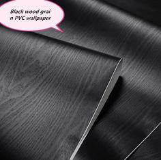 Hot 5m*60cm wood grain Boeing film Furniture renovation vinyl PVC self-adhesive wallpaper wall stickers home decorative fimls