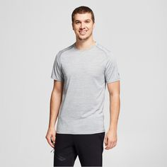 8f24aa1ba1f47 The Men s Elevated Tech T-Shirt from C9 Champion features wicking fabric  that breathes for