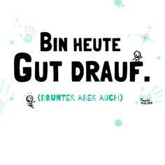 Bin #heute Gut #drauf . #Drunter aber auch Wünsche allen nen chic'en #Feierabend ✌️ #ironie #eindeutig #zweideutig #chillimilli #over ✳️