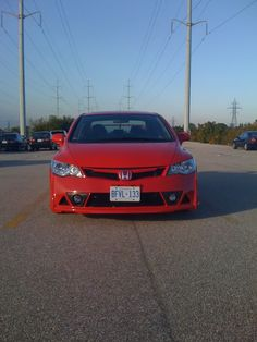Mugen RR FD5 in red  The OFFICIAL JDM Conversion Crew~~ - Page 251 - 8th Generation Honda Civic Forum