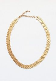 Helena Necklace - my eye passed over it in the catalog, but when I saw it in person and then tried it on? Game over. She will be mine!