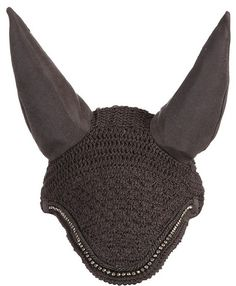 Crystal Trim LeMieux Vogue Grey Fly Hood Grey Braiding - £29.95 : Lemieux, The finest Equestrian products in the UK.