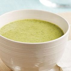 Pureed Broccoli Soup - EatingWell.com