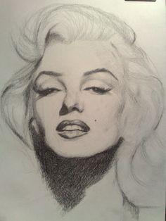 Marilyn Monroe by deadpixel   This image first pinned to Marilyn Monroe Art board, here: http://pinterest.com/fairbanksgrafix/marilyn-monroe-art/    #Art #MarilynMonroe