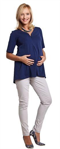 Candy grey брюки зауженного кроя с высоким бандажом