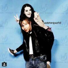 Paige & Dean Ambrose