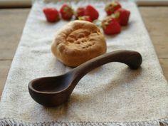 Wood Jam Spoon - Carved Wooden Spoon - Kitchen Spoon - Salsa Scoop - Food Prep on Etsy, $44.25