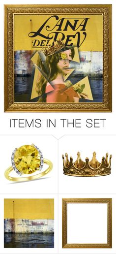 """Lana Del Rey Fantasy"" by ayeonee on Polyvore featuring art, contest, lanadelrey and polyvorecontest"