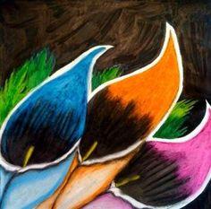 Oil Pastel Ideas   Art at WHS » Oil Pastel