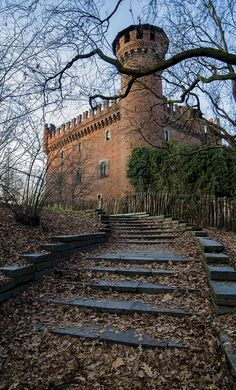 Medieval Castle in Autumn.. Valentino Park - Turin, Italy | by Marcello Caponnetto on 500px